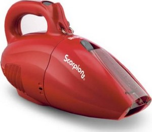 Dirt Devil SD20005RED Scorpion Quick Hand Vacuum with Cord, Hose, Crevice Tool, Brush Attachments