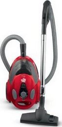 Dirt Devil SD40010 EZ Lite Bagless Canister Vacuum Cleaner Red