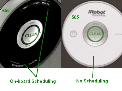 Irobot Roomba 655 Vs 585 What S The Difference Vacuum