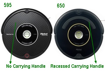 Irobot Roomba 650 Vs 595 What S The Difference Vacuum