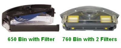 Irobot Roomba 650 Vs 760 What S The Difference Vacuum