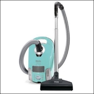 Miele Neptune Canister Vacuum Cleaner, S4212 Neptune S4 - Turquoise Blue