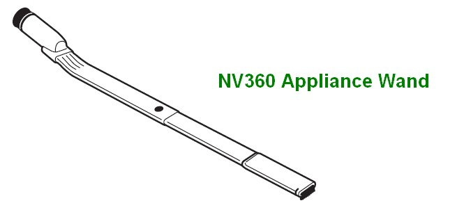 this appliance wand image was taken from the nv360 manual