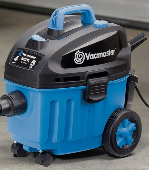 Vacmaster VF408 Wet Dry Vac in Blue/Black