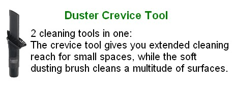 Duster Crevice Tool