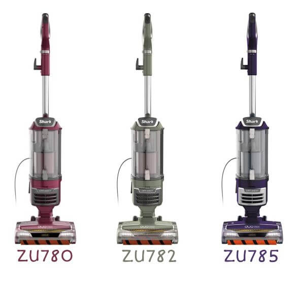 Shark ZU780 Rotator Pro Lift Away DuoClean Bagless HEPA Upright Vacuum Cleaner